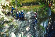 Canyon Marc Ariège grand rappel de 18m