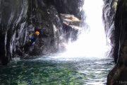 Canyon Marc Ariège rappel vasque du grand saut