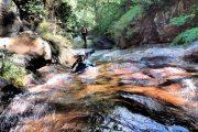 Canyon Argansou Ariège toboggan pour enfants