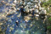 Canyon Marc Ariège nage et relaxation